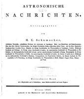 Astronomische Nachrichten: Volumes 13-14