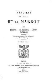 Mémoires du général Bon de Marbot ...