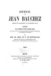 Journal de Jean Bauchez: greffier de Plappeville au dix-septième siècle