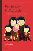 Patriarchy in East Asia PDF
