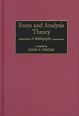 Form and Analysis Theory PDF