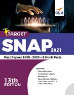 TARGET SNAP 2021 (Past Papers 2005 - 2020) + 5 Mock Tests 13th Edition