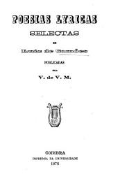 Poesias lyricas selectas de Luiz de Camões