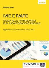 Ivie e Ivafe - patrimoniali e monitoraggio fiscale