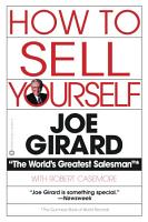 How to Sell Yourself PDF