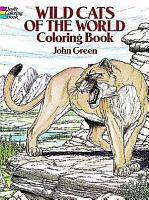 Wild Cats of the World Coloring Book PDF