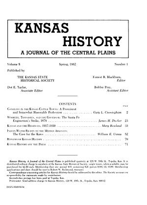 Kansas History PDF