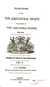 Transactions of the State Agricultural Society of Michigan PDF