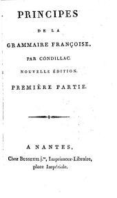 Principes de la grammaire françoise