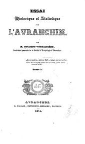 Essai historique et Statistique sur l'Avranchin: Volume2