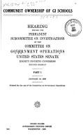 Communist Ownership of GI Schools PDF