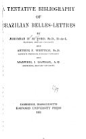 A Tentative Bibliography of Brazilian Belles lettres PDF