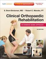 Clinical Orthopaedic Rehabilitation E Book PDF