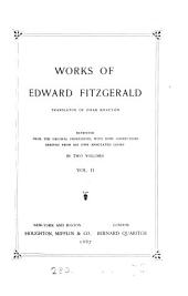Works of Edward FitzGerald ...
