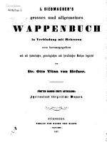 J  Siebmacher s grosses und allgemeines wappenbuch PDF