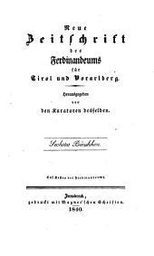 Zeitschrift des Ferdinandeums für Tirol und Vorarlberg, Herausgegeben von dem verwaltungs-ausschusse desselben