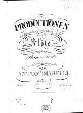 Schlußgesang mit Variationen: (D'amore al dolce impero) : (Es huld'gen Land und Meere) ; aus der Oper: Armida