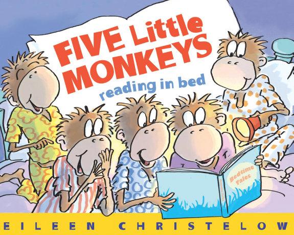 Five Little Monkeys Reading in Bed PDF