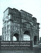 Histoire de France depuis les origines jusqu'à la révolution: ptie. I. Tableau de la géographie de la France, par P. Vidal de la Blache