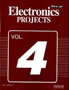 Electronics Projects Vol  4 Book