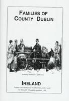 The Families of County Dublin  Ireland PDF