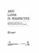 Arid Lands in Perspective