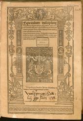 Speculum disciplinae monastic