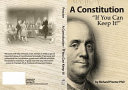 A Constitution If You Can Keep It Book
