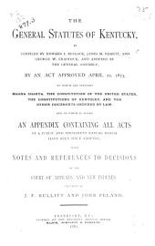 The General Statutes of Kentucky