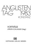 Anglistentag 1983, Konstanz
