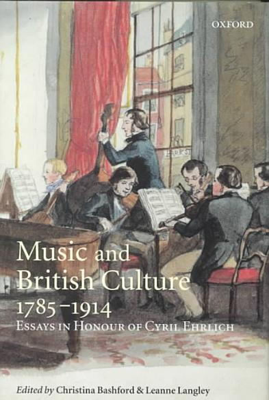 Music And British Culture 1785 1914