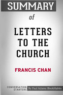 Summary of Letters to the Church by Francis Chan