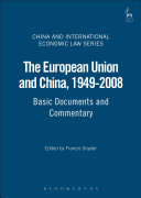 The European Union and China, 1949-2008