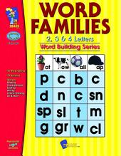 Word Families 2,3 & 4 Letter Words Gr. 1-3