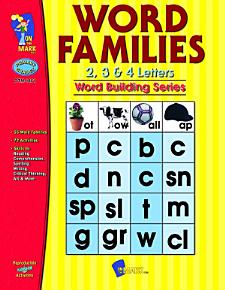 Word Families 2 3   4 Letter Words Gr  1 3 PDF