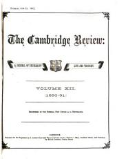 The Cambridge Review PDF