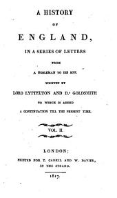 A History of England in a Series of Letters: Volume 2