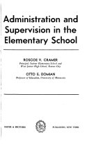 Administration and Supervision in the Elementary School