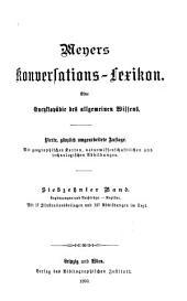 Meyers Konversations-Lexikon: eine Eycyklopädie des allgemeinen Wissens, Band 17