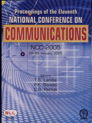 Proceedings of the Eleventh National Conference on Communications PDF