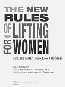 The New Rules of Lifting for Women PDF