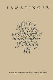 Barock und Rokoko in der deutschen Dichtung