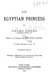 An Egyptian Princess: Volume 2