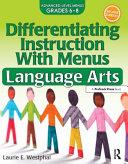 Differentiating Instruction with Menus  Language Arts  Grades 6 8  PDF