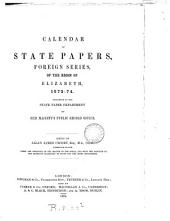 Calendar of State Papers, Foreign Series, of the Reign of Elizabeth: 1577-1578