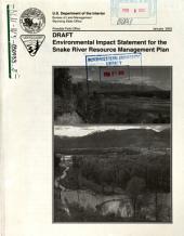 Snake River Resource Management Plan: Environmental Impact Statement
