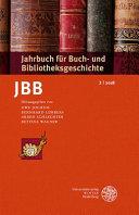 Jahrbuch f  r Buch  und Bibliotheksgeschichte 3   2018 PDF