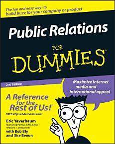 Public Relations For Dummies PDF