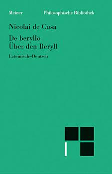 De beryllo     ber den Beryll PDF