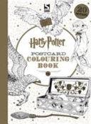 Harry Potter Postcard Colouring Book PDF